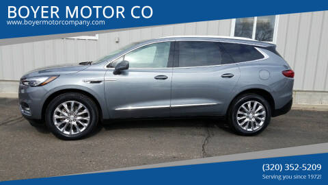 2018 Buick Enclave for sale at BOYER MOTOR CO in Sauk Centre MN