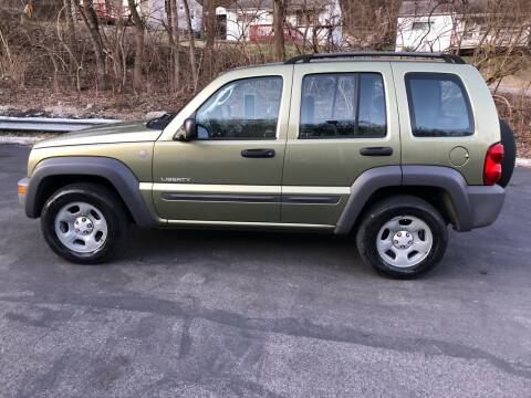 2004 Jeep Liberty for sale at CHRIS AUTO SALES in Cincinnati OH
