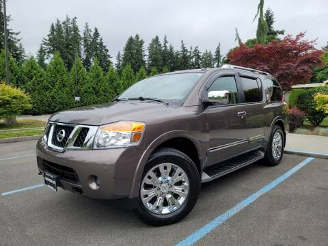 2015 Nissan Armada for sale at Silver Star Auto in Lynnwood WA