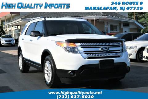 2015 Ford Explorer for sale at High Quality Imports in Manalapan NJ