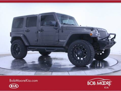 2014 Jeep Wrangler Unlimited for sale at Bob Moore Kia in Oklahoma City OK