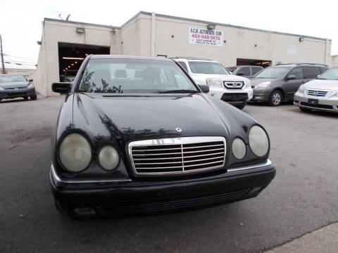 1999 Mercedes-Benz E-Class for sale at ACH AutoHaus in Dallas TX