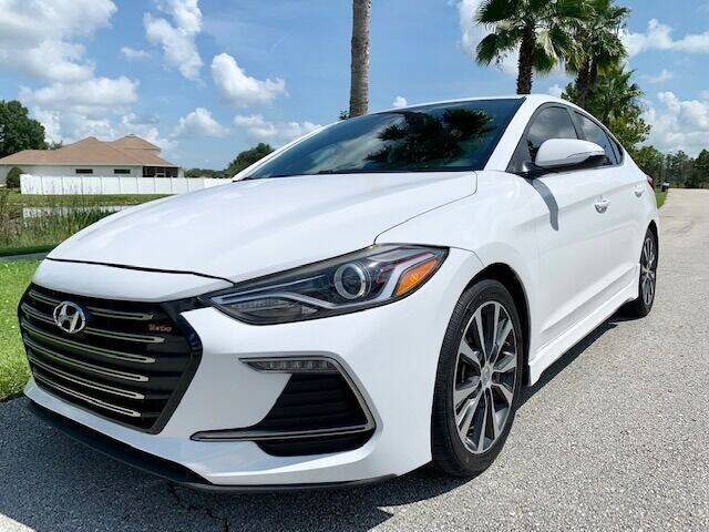 2018 Hyundai Elantra for sale at CLEAR SKY AUTO GROUP LLC in Land O Lakes FL
