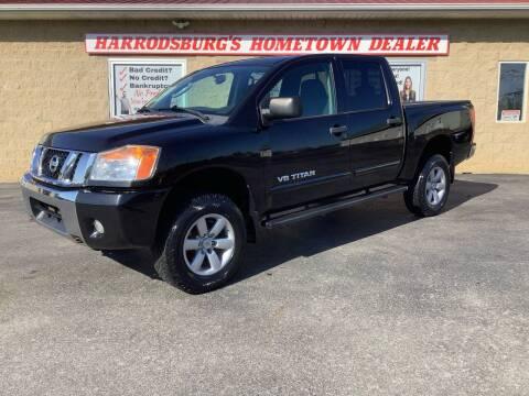 2010 Nissan Titan for sale at Auto Martt, LLC in Harrodsburg KY