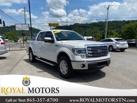 2014 Ford F-150 for sale at ROYAL MOTORS LLC in Knoxville TN