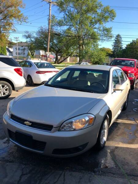2010 Chevrolet Impala for sale at Jimmys Auto Sales in North Providence RI
