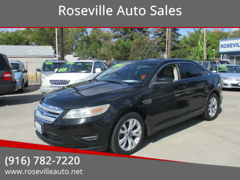 2011 Ford Taurus for sale at Roseville Auto Sales in Roseville CA