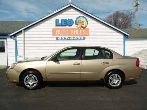 2007 Chevrolet Malibu for sale at Leo Auto Sales in Leo IN