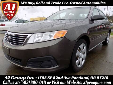 2009 Kia Optima for sale at A1 Group Inc in Portland OR