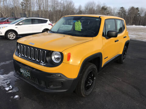 2017 Jeep Renegade for sale at Greg's Auto Sales in Searsport ME