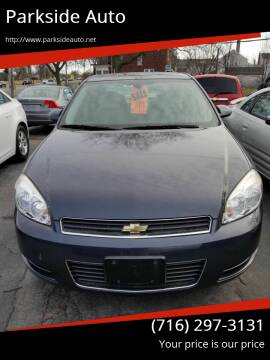 2009 Chevrolet Impala for sale at Parkside Auto in Niagra Falls NY