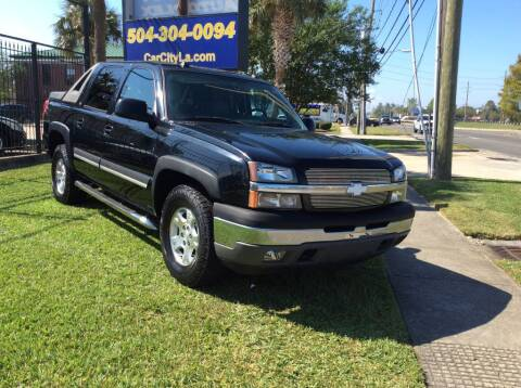 2005 Chevrolet Avalanche for sale at Car City Autoplex in Metairie LA