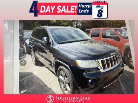 2012 Jeep Grand Cherokee for sale at Southern Star Automotive, Inc. in Duluth GA