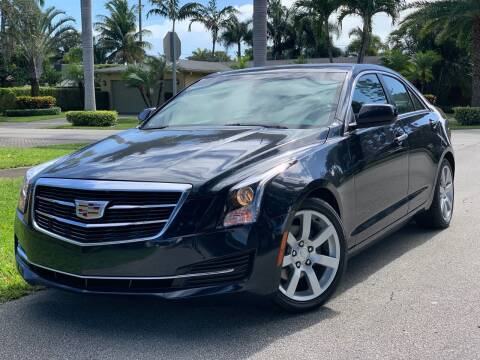 2016 Cadillac ATS for sale at HIGH PERFORMANCE MOTORS in Hollywood FL