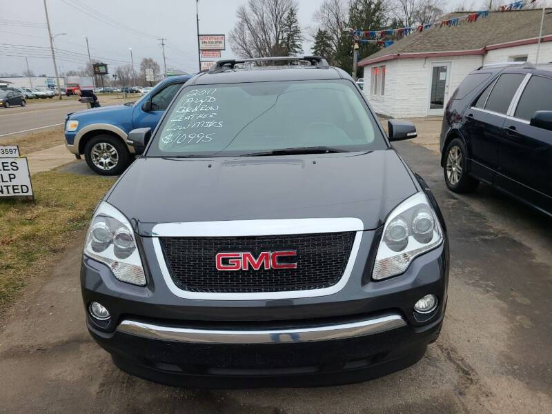 2011 GMC Acadia for sale at All State Auto Sales, INC in Kentwood MI