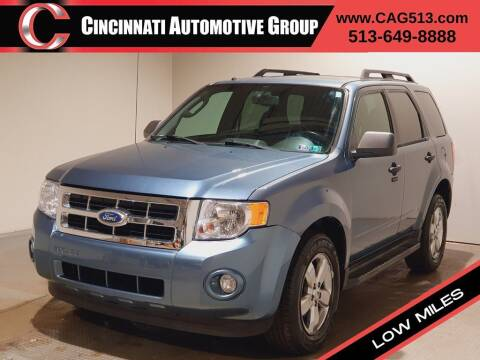 2010 Ford Escape for sale at Cincinnati Automotive Group in Lebanon OH