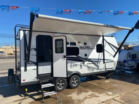 2021 Forest River FLAGSTAFF MICROLITE 21FBRS for sale at ROGERS RV in Burnet TX