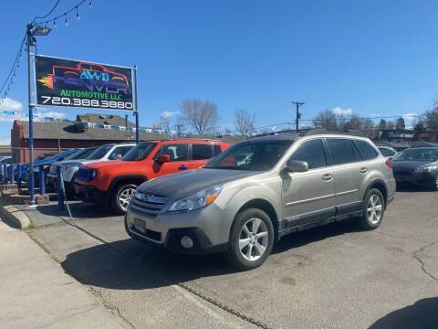 2014 Subaru Outback for sale at AWD Denver Automotive LLC in Englewood CO