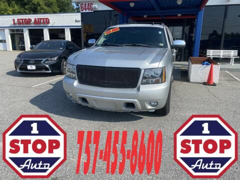 2013 Chevrolet Tahoe for sale at 1 Stop Auto in Norfolk VA