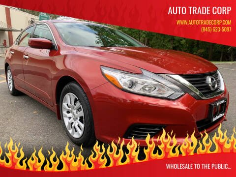 2016 Nissan Altima for sale at AUTO TRADE CORP in Nanuet NY
