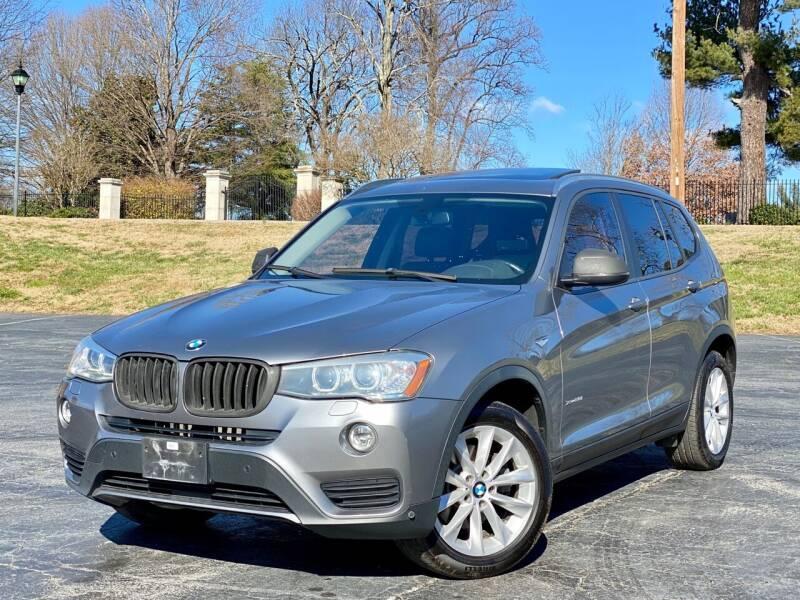 2015 BMW X3 for sale at Sebar Inc. in Greensboro NC