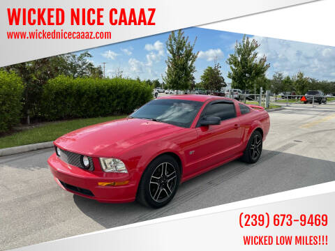 2007 Ford Mustang for sale at WICKED NICE CAAAZ in Cape Coral FL