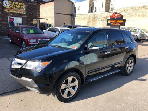 2008 Acura MDX for sale at STEEL TOWN PRE OWNED AUTO SALES in Weirton WV