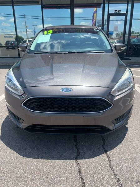 2015 Ford Focus for sale at East Carolina Auto Exchange in Greenville NC