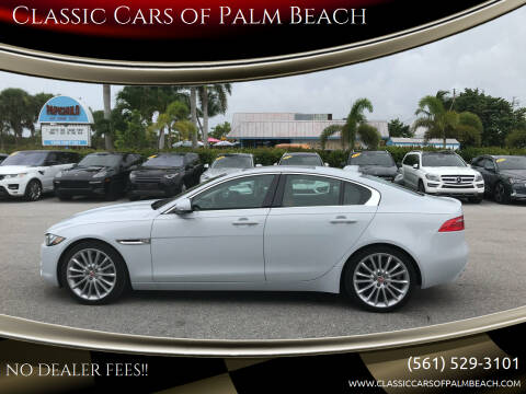 2018 Jaguar XE for sale at Classic Cars of Palm Beach in Jupiter FL