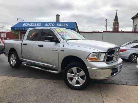 2009 Dodge Ram Pickup 1500 for sale at Gonzalez Auto Sales in Joliet IL