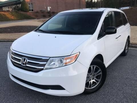 2011 Honda Odyssey for sale at Desired Motors in Alpharetta GA