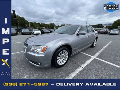 2014 Chrysler 300 for sale at Impex Auto Sales in Greensboro NC