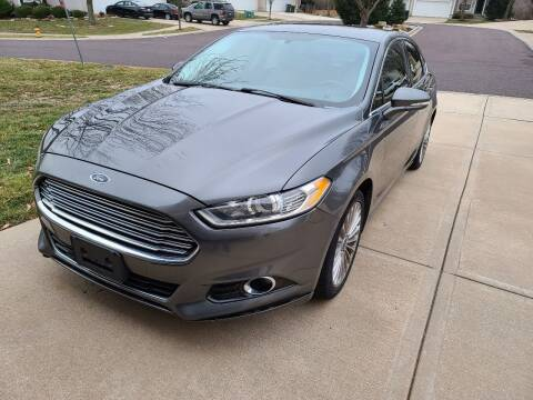 2015 Ford Fusion for sale at Auto Hub in Grandview MO