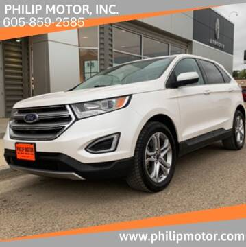 2015 Ford Edge for sale at Philip Motor Inc in Philip SD