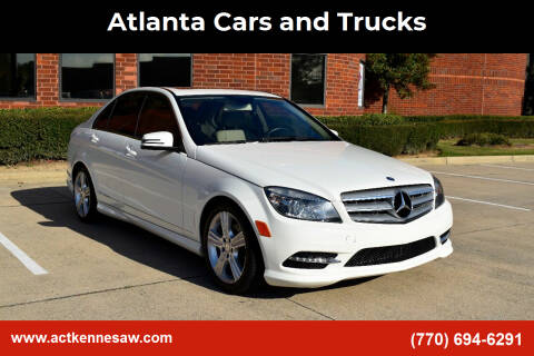 2011 Mercedes-Benz C-Class for sale at Atlanta Cars and Trucks in Kennesaw GA