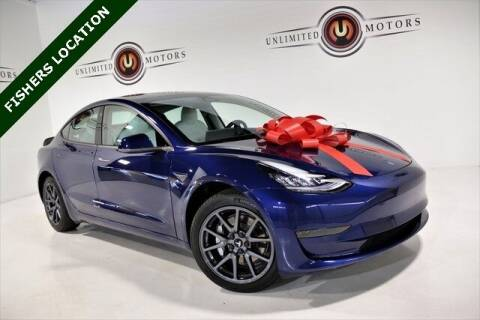 2020 Tesla Model 3 for sale at Unlimited Motors in Fishers IN