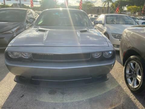 2014 Dodge Challenger for sale at America Auto Wholesale Inc in Miami FL