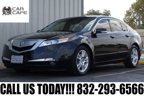 2010 Acura TL for sale at CAR CAFE LLC in Houston TX