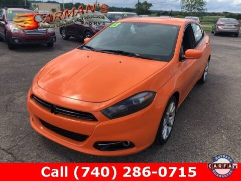 2013 Dodge Dart for sale at Carmans Used Cars & Trucks in Jackson OH