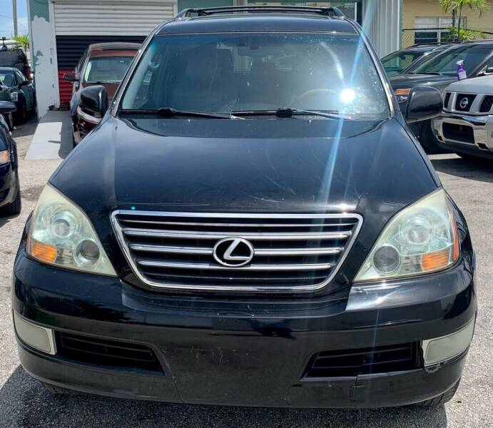 2006 Lexus GX 470 for sale at Naber Auto Trading in Hollywood FL