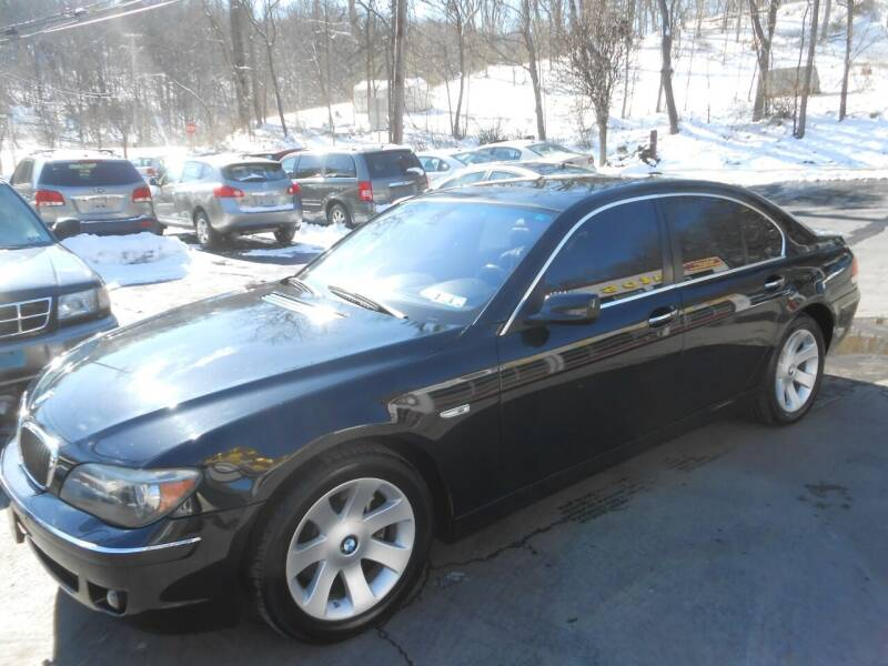2008 BMW 7 Series for sale at AUTOS-R-US in Penn Hills PA