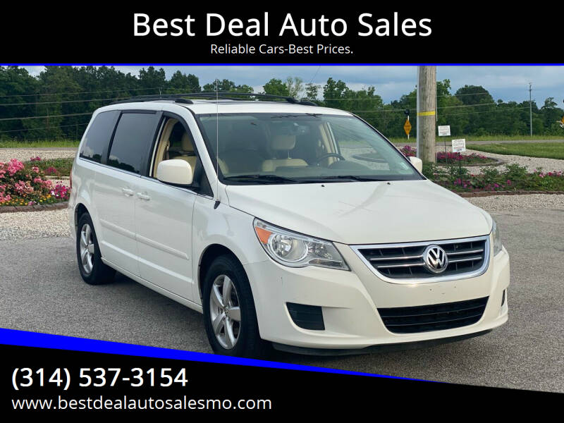 2009 Volkswagen Routan for sale at Best Deal Auto Sales in Saint Charles MO