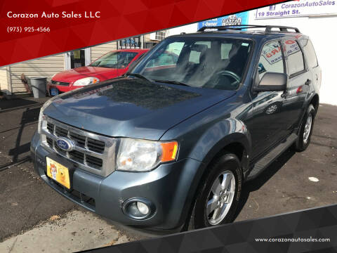 2010 Ford Escape for sale at Corazon Auto Sales LLC in Paterson NJ