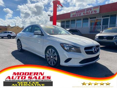 2018 Mercedes-Benz CLA for sale at Modern Auto Sales in Hollywood FL