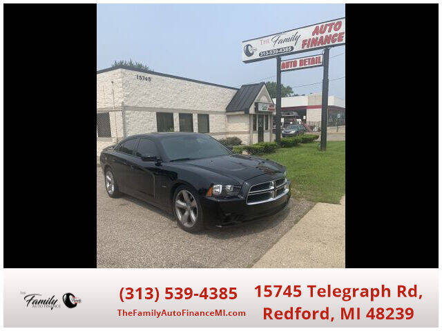 2012 Dodge Charger for sale at The Family Auto Finance in Redford MI