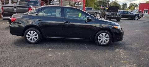 2013 Toyota Corolla for sale at L&T Auto Sales in Three Rivers MI