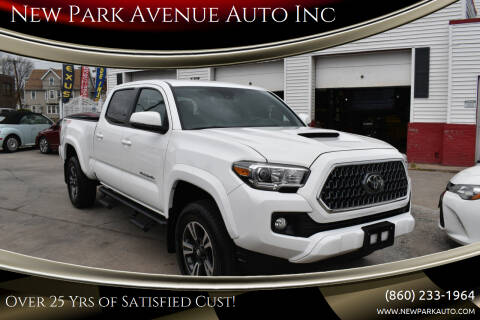 2019 Toyota Tacoma for sale at New Park Avenue Auto Inc in Hartford CT