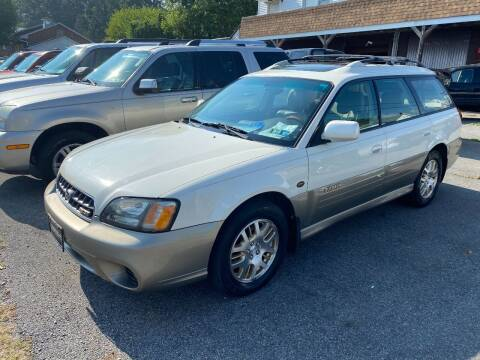 2003 Subaru Outback for sale at TNT Auto Sales in Bangor PA