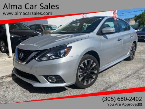 2017 Nissan Sentra for sale at Alma Car Sales in Miami FL