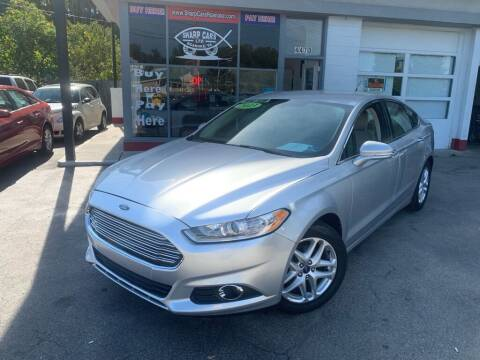 2013 Ford Fusion for sale at SHARP CARS ROANOKE in Roanoke VA